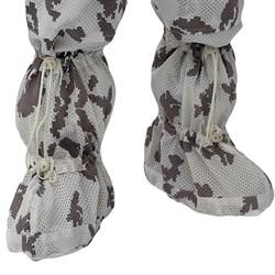 """Белые маскировочные чехлы на ботинки """"Мираж"""" - фото 10102"""