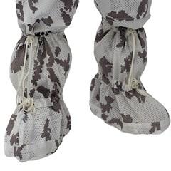 """Белые маскировочные чехлы на ботинки """"Мираж"""""""