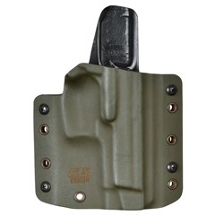 Кобура из Kydex под ПЯ до 2011 года (с отверстием) Ranger green  5.45 Design