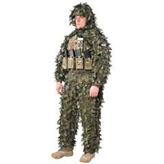 """Зеленый маскировочный костюм """"Леший Лето"""""""